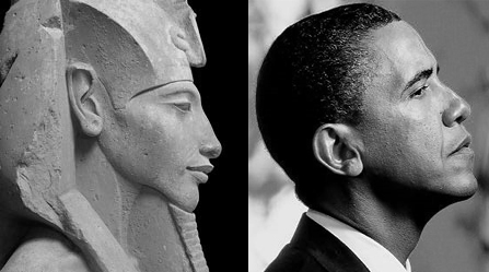 Akhenaton and Barack Obama