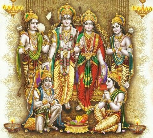 Rama, and Brothers, Ramayana