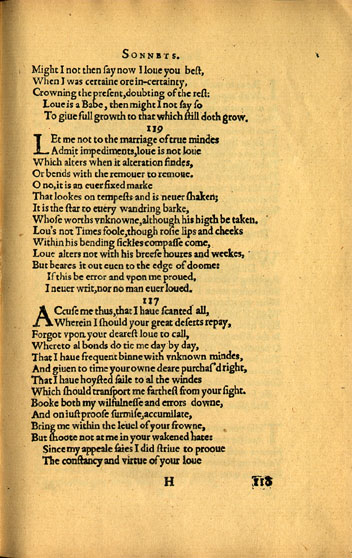 William Shakespeare, Sonnet 119