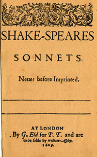 William Shakespere, Sonnets
