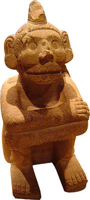 Mictlantecuhtli, the Aztec god of death