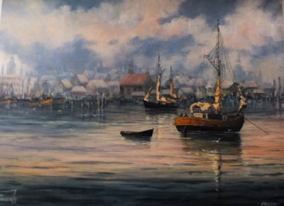 Maritime Malerei