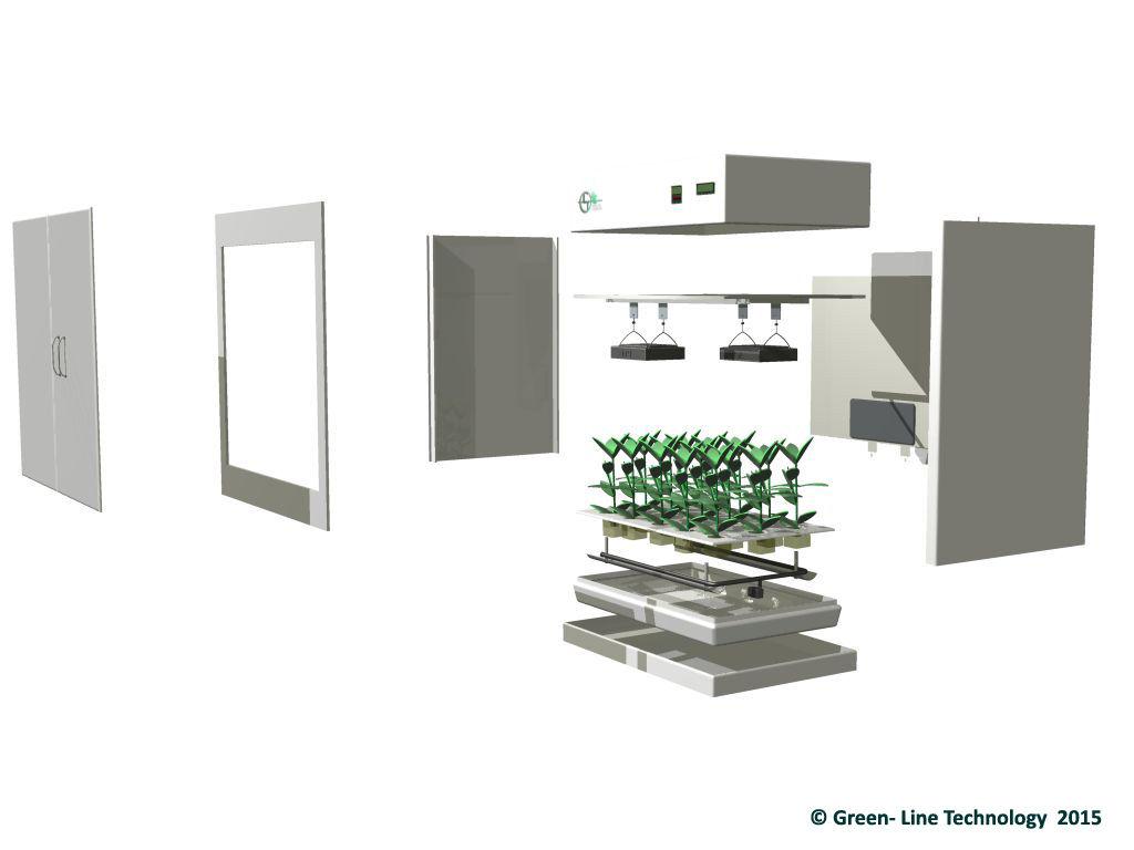 Green Line Technology - Green Box - Pflanzenzuchtsystem