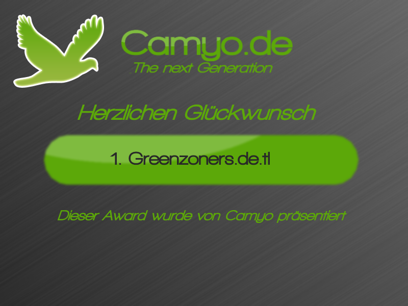 Award von Camyo.de