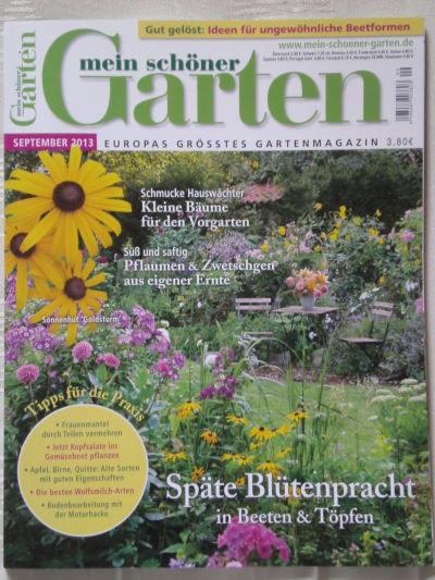 mein schoner garten 2013, grenzlandgarten - ein ort für genießer, Design ideen