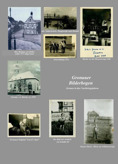 Collage mit verschiedenen Fotos aus Gronau