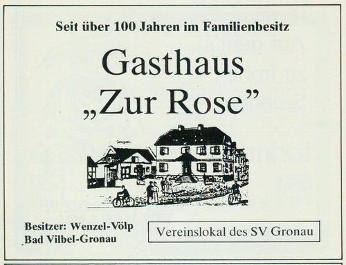 Werbeanzeige Gasthuas Zur Rose