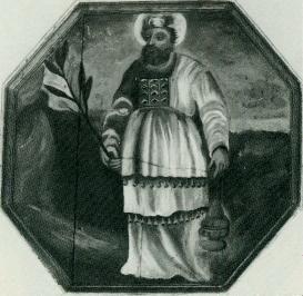 Zeichnung eines Mannes in orientalischer Kleidung
