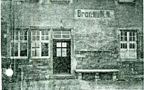 Altes Foto des Gronauer Bahnhofs