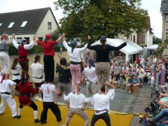 Piraten bei der Show