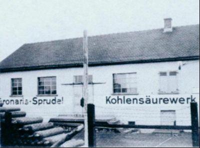 Foto des Kohlesäurenwerks Gronaris Sprudel