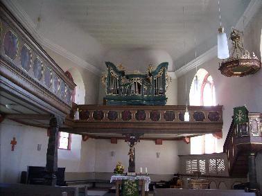 Historische Kirchenorgel