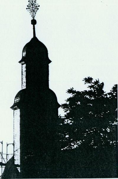 Foto des Kirchturms