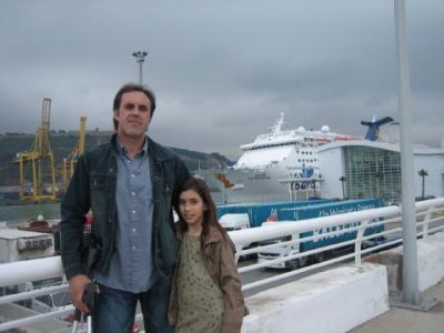 Jordi y su hija Ona(Rudy)