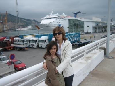 Laura y su hija Ona (Rudy)
