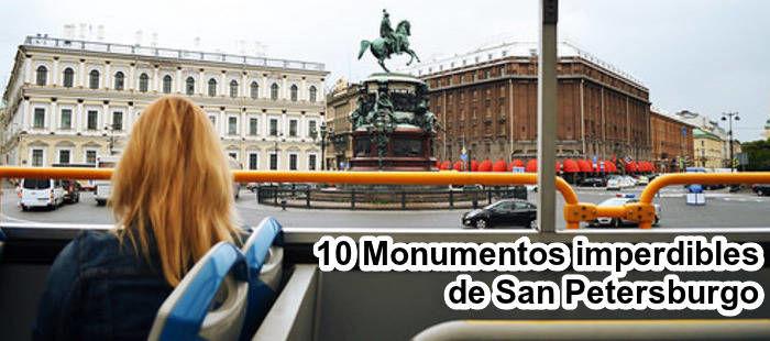 10 Monumentos imperdibles de San Petersburgo