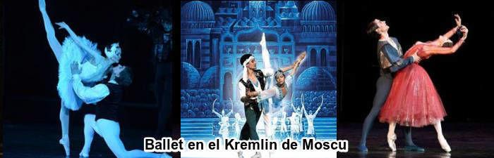 Ballet en el Kremlin de Moscu