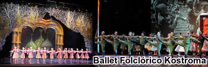 Ballet Kostroma en Moscú