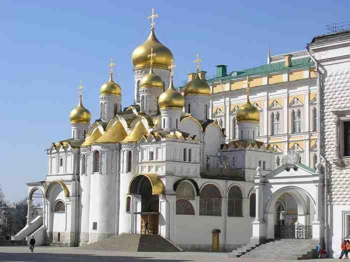 Tour Catedral del Arcángel Miguel Moscú en español
