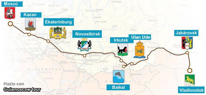 Comprar boleto tren transiberiano Rusia imperial Moscú Vladivostok