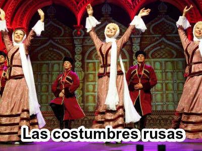 Las costumbres rusas