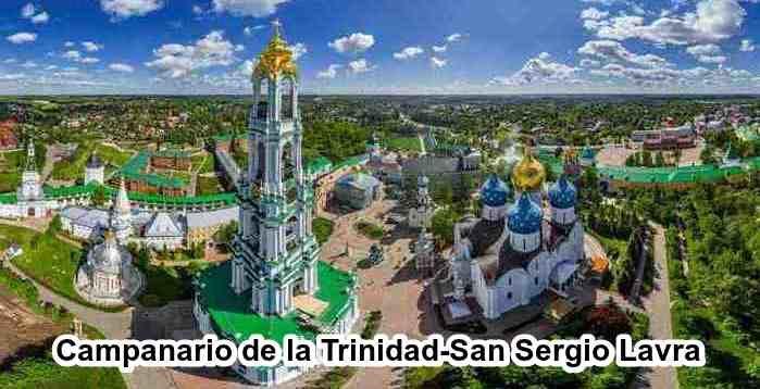 Campanario de la Trinidad-San Sergio Lavra