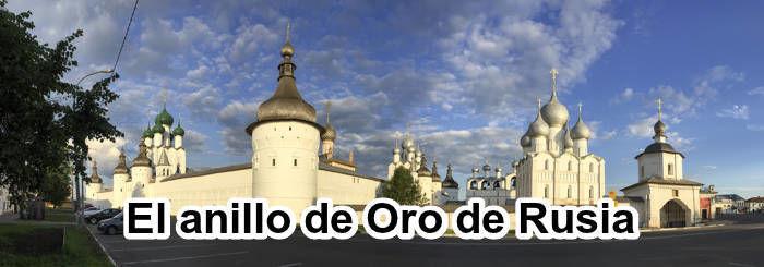 Anillo de oro de Rusia en espanol