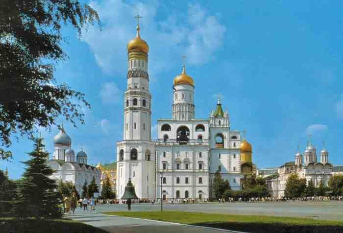 Tour Campanario de Iván el Grande Moscú Kremlin