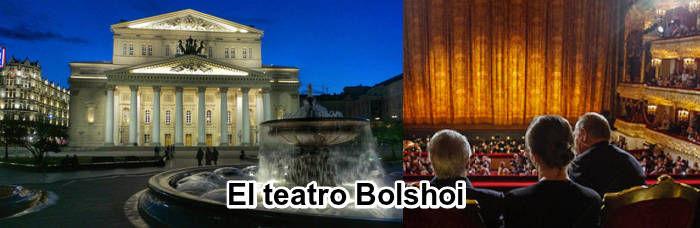 El teatro Bolshoi