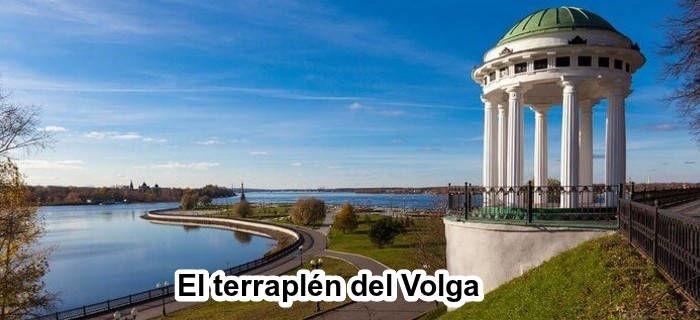 El terraplén del Volga