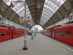Estaciones de trenes de Moscú