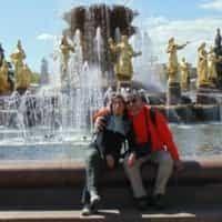 Excursiones con turistas de Chile Guiamoscow tour