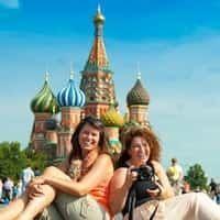Excursiones con turistas de Colombia Guiamoscow tour.