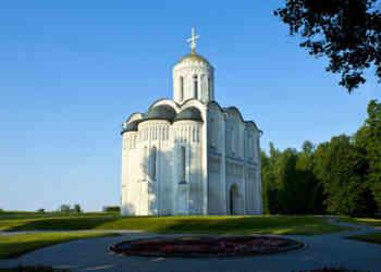 Catedral de San Dimetrio en Vladimir