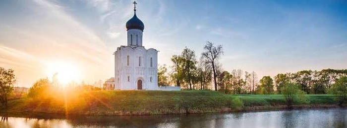 La Iglesia de la Intercesion en el Nerl