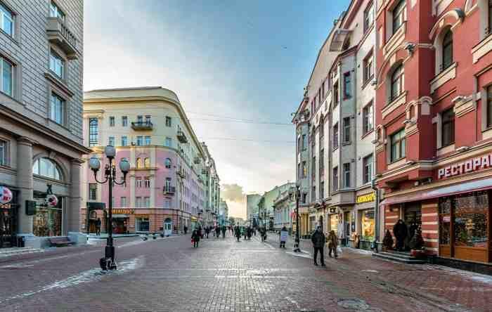 Tour calle Arbat de Moscú