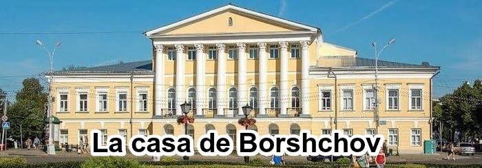 La casa de Borshchov en Kostroma.