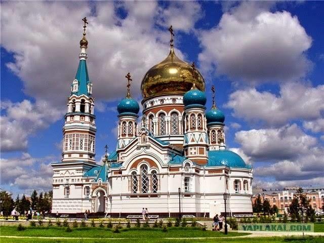 La catedral de la Asunción Omsk