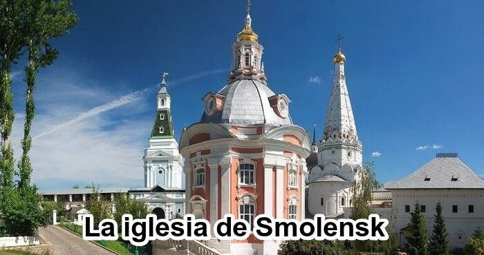 La iglesia de Smolensk en Sergiev Posad