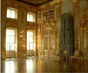 Tour a la sala de Ambar en el Palacio de Catalina Rusia.