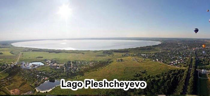 Lago Pleshcheyevo en Pereslavl