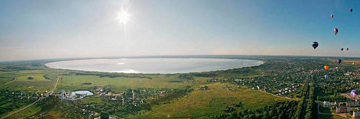Lago Pleshcheyevo Pereslavl Zalessky Rusia