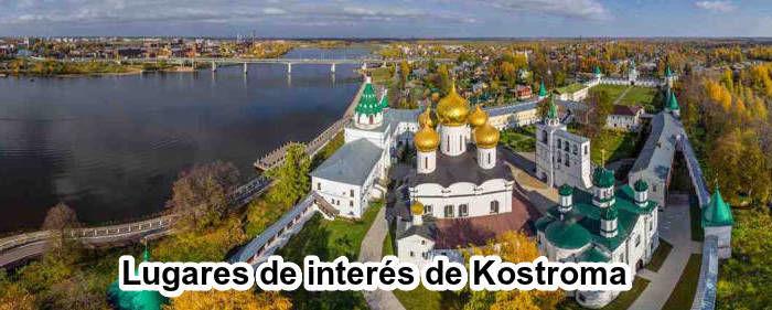 Lugares de interés de Kostroma