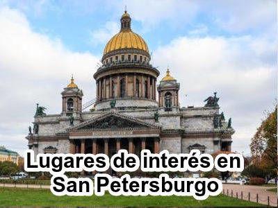 Lugares de interés en San Petersburgo