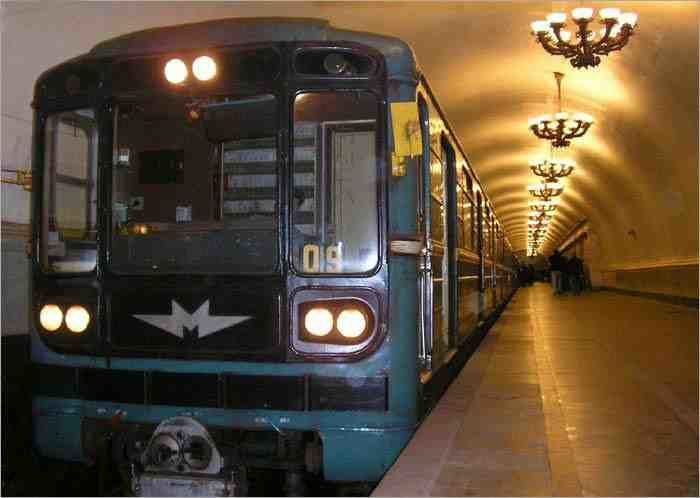 Tour metro de Moscú en español
