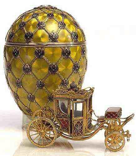 La Armería del Kremlin dispone de una de las mayores colecciones de huevos de Fabergé del mundo.