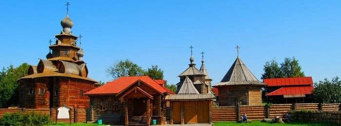 Museo de arquitectura de Madera en Suzdal