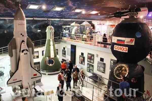 Museo Cosmos Moscú, Rusia.