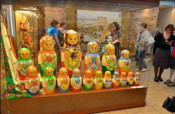 Exposición Museo de la Matrioshka rusa