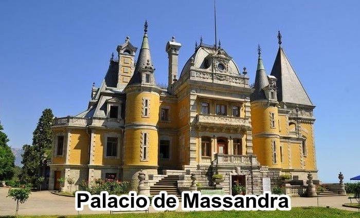 Palacio de Massandra en Crimea
